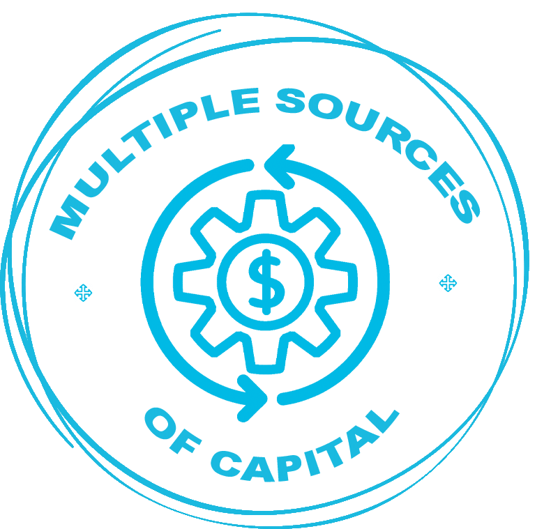 MULTIPLE SOURCES OF CAPITAL