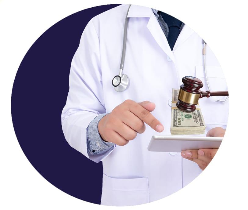 Medical lien financing