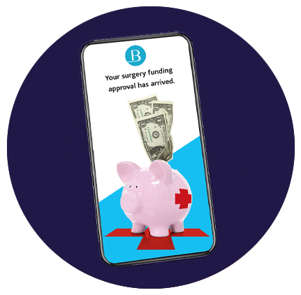 Surgery lien funding products