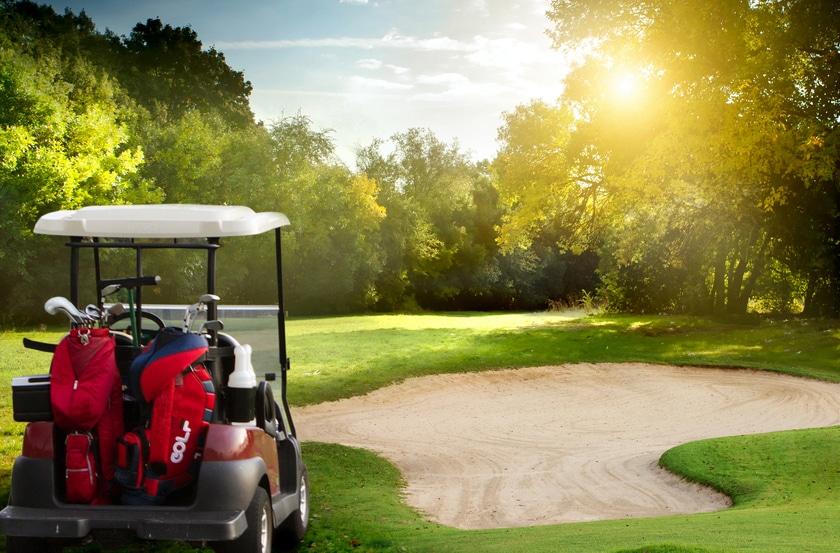 Golf car accident loans